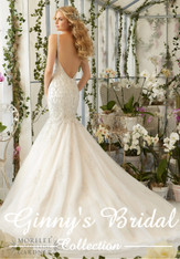 Morilee Bridal Wedding Dress Style 2823 Ivory Size 8 on Sale