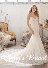 Mori Lee Bridal Wedding Dress Style Malia 8112