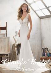 Mori Lee Bridal Wedding Dress Style Mallory 8113