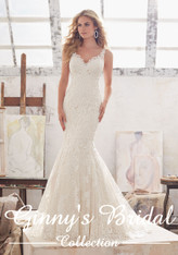 Mori Lee Bridal Wedding Dress Style Marcelline 8115