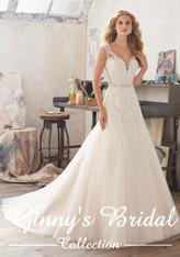 Mori Lee Bridal Wedding Dress Style Marciana 8117