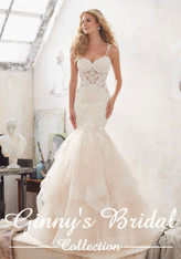 Mori Lee Bridal Wedding Dress Style Marciela 8118