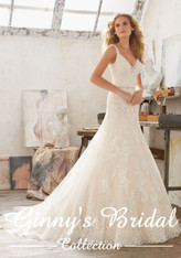 Mori Lee Bridal Wedding Dress Style Mariana 8122