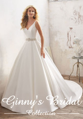 Mori Lee Bridal Wedding Dress Style Maribella 8123