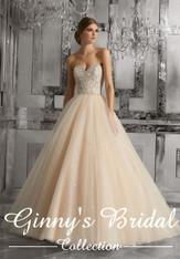 Mori Lee Bridal Wedding Dress Style Mystique 8175