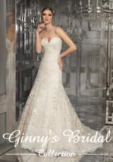 Morilee Bridal Wedding Dress Style 8178/Monroe Ivory/Champagne Size 20