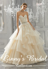 Mori Lee Bridal Wedding Dress Style Moira 8184