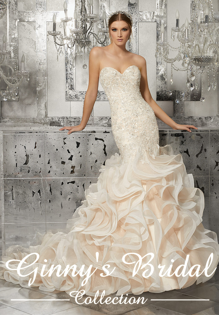 2ca335f74cb6 ... Mori Lee Bridal Wedding Dress Style Mirjana 8189. Image 1. Image 1.  Image 2. Image 3. See 2 more pictures