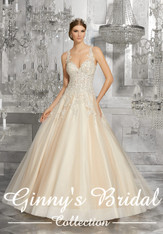 Mori Lee Bridal Wedding Dress Style Mahala 8190