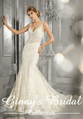 Mori Lee Bridal Wedding Dress Style Maggie 8192