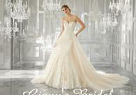 Mori Lee Bridal Wedding Dress Style Melrose 8193