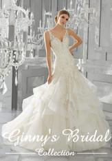 Mori Lee Bridal Wedding Dress Style Mattea 8195