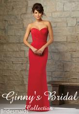 Mori Lee Bridesmaids Dress Style 715