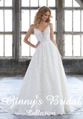 Mori Lee Bridal Wedding Dress Style Kasey 8204