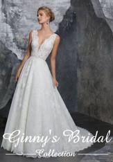 Mori Lee Bridal Wedding Dress Style Kelly 8208