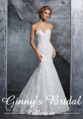 4c62ab818c81 Mori Lee Designer Bridal Wedding Dress at Ginny's Bridal Collection ...