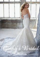Mori Lee Bridal Wedding Dress Style Khloe 8216