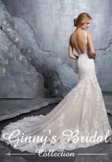 Mori Lee Bridal Wedding Dress Style Krystal 8218