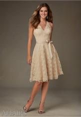 Mori Lee Bridesmaids Dress Style 31075