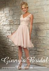 Mori Lee Bridesmaids Dress Style 31054