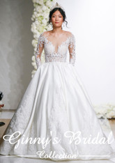 Mori Lee Bridal Wedding Dress Style Lourdette 8297