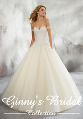 Mori Lee Bridal Wedding Dress Style Liberty 8291