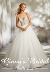 Morilee Bridal Wedding Dress Style Leandra 8286