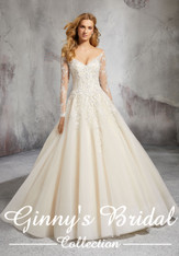 Morilee Bridal Wedding Dress Style Laurel 8281