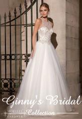 Morilee Bridal Wedding Dress Style 2711 Ivory Size 10 on Sale