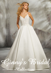 Morilee Bridal Wedding Dress Style Luella 8272