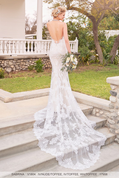 Ivoire by Kitty Chen Wedding Dress Style Sabrina V1804