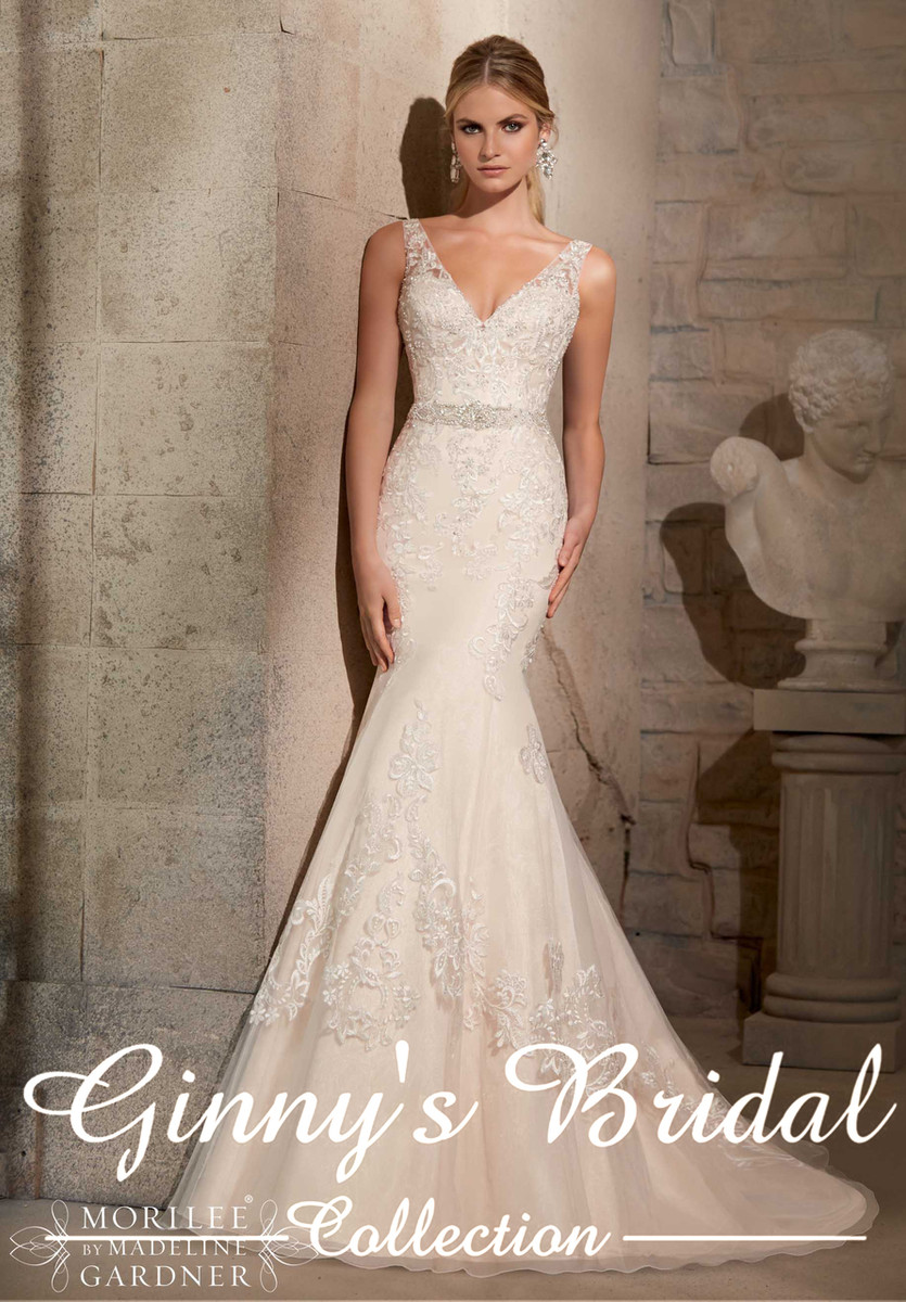 62caf8c8cf Mori Lee Wedding Dress 2715 at Affordable Price | GinnysBridalCollection