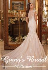 Blu by Morilee Bridal Wedding Dress 5466 Ivory Size 14 on Sale