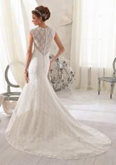 Blu by Morilee Bridal Wedding Dress 5214 White Size 16 on Sale