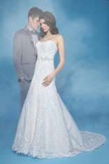 Impression Bridal Wedding Dress 10257 Ivory Size 16 on Sale