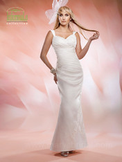 Mary's Bridal Wedding Dress Style 2525 White Size 12 on Sale
