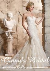 Morilee Wedding Dress 2772 Ivory Size 16 on Sale