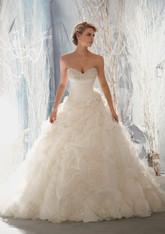 Morilee Bridal Wedding Dress Style 1965 White Size 10 on Sale