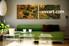 2 Piece Canvas Wall Art, landscape wall art, scenery artwork, forest wall art, living room wall art