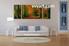 Landscape Art, 3 piece art, living room decor, forest wall art, scenery wall art