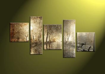 5 Piece Canvas Wall, landscape art,scenery pictures, scenry wall art, scenery wall art