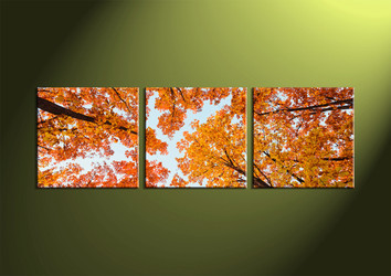 scenery 3 piece wall art, forest canvas print, scenery wall art, 3 piece wall art, scenery wall art