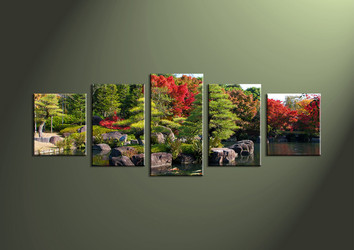 Canvas Prints, landscape prints, wall art, waterfall wall art, forest wall art