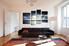 4 Piece Canvas Wall Art, black and white canvas art, living room decor, sea artwork