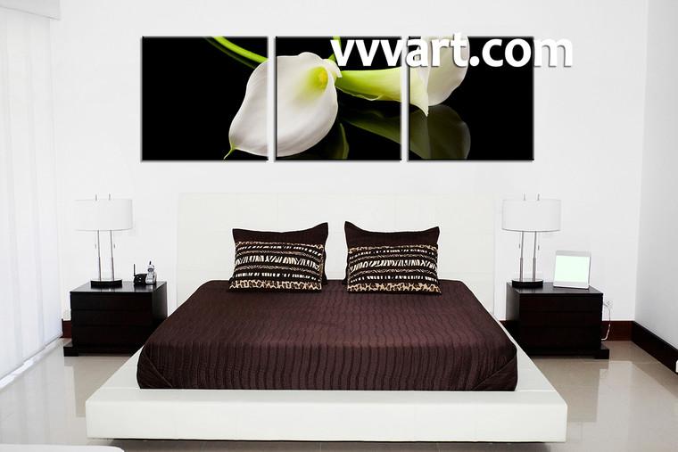 Canvas Prints, floral canvas prints, bedroom decor, flower canvas print, flower decor