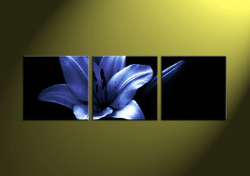 black and white wall art,3 piece art,wall art, flower picture,flower art