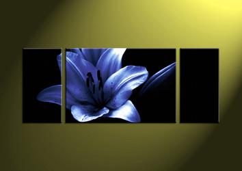 black and white wall art,3 piece art,wall art, flower picture,flower art