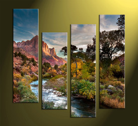 4 piece wall art,Landscape Art,Canvas Prints,scenery canvas prints,landscape wall art
