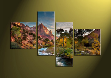 4 piece wall art,Landscape Art,Canvas Prints,scenery canvas prints,landscape wall art