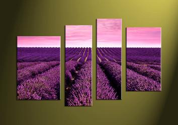 wall art, landscape canvas art, scenery canvas print, scenery art,4 piece artwork
